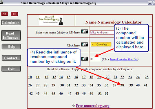 Free Name Numerology Calculator Download Now